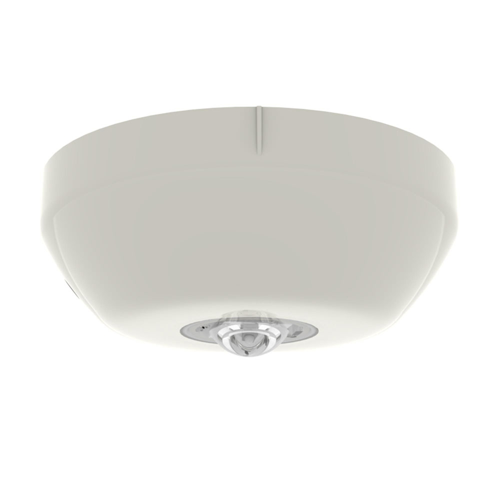 Lampa de incendiu adresabila pentru tavan Hochiki ESP CHQ-CB/WL-15, 15 m, LED alb, carcasa PC+ABS ivoriu