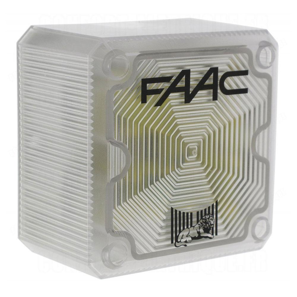 Lampa de semnalizare FAAC XL24, 24 V, IP 55
