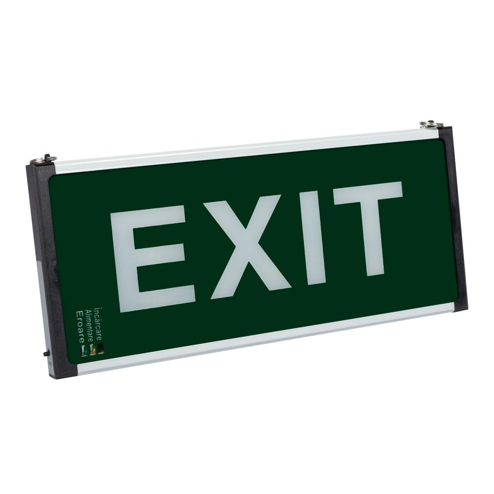 Lampa exit LED EL0057271, 2W, autonomie 2 ore imagine spy-shop.ro 2021