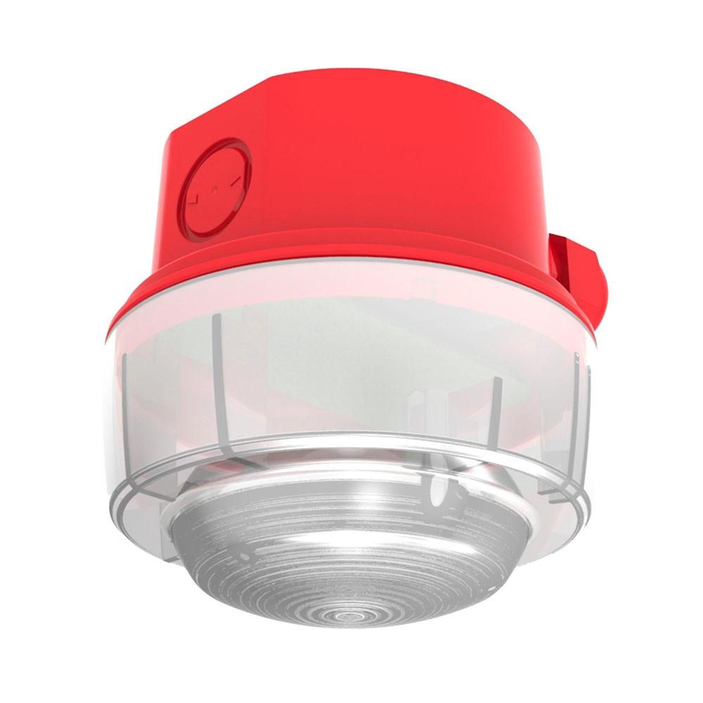 Lampa semnalizare conventionala de exterior Hochiki CWST-RW-W5, IP65, LED alb, carcasa PC-ABS rosu imagine spy-shop.ro 2021