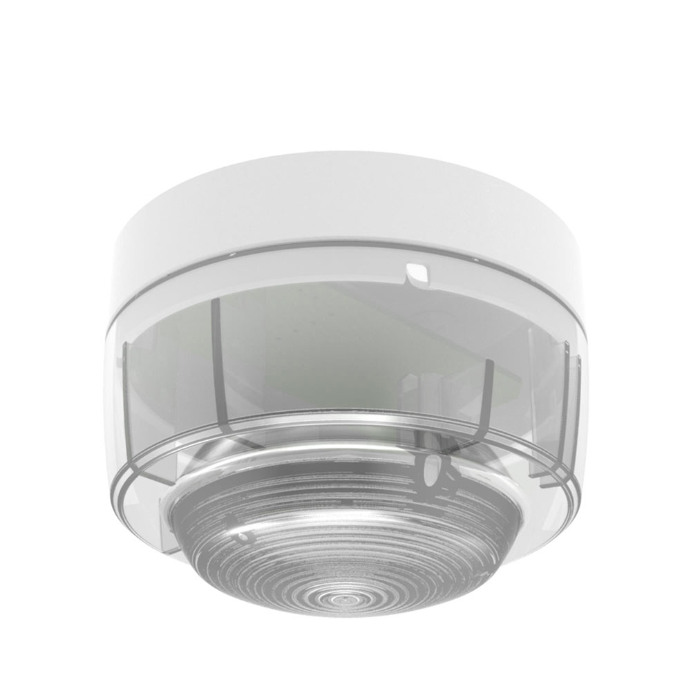 Lampa semnalizare conventionala Hochiki CWST-WR-S5, IP21C, LED rosu, carcasa PC-ABS alb imagine