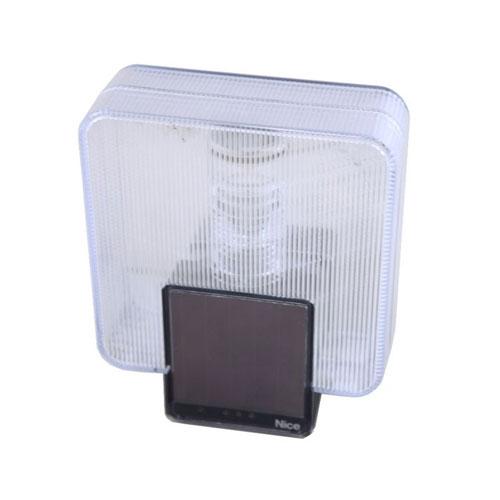 Lampa semnalizare wireless fotovoltaica Nice LLW, 868 MHz, 1.2 V, 40 m imagine spy-shop.ro 2021
