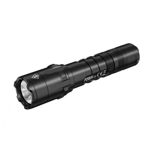 Lanterna profesionala tactica UV Nitecore P20UV V2, 1000 lumeni, 174 m