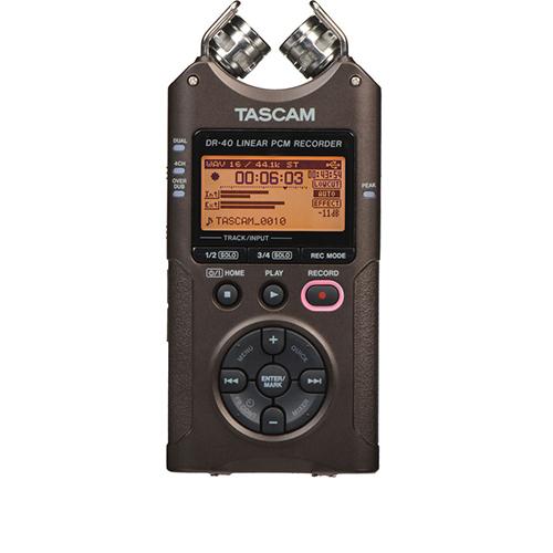 Reportofon digital profesional Tascam DR-40BR, 32GB, 7 ore imagine spy-shop.ro 2021