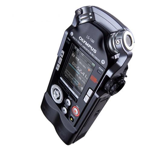 Reportofon digital Olympus LS-100 Multi-Track V409121BE000, 4 GB, 12 ore imagine spy-shop.ro 2021