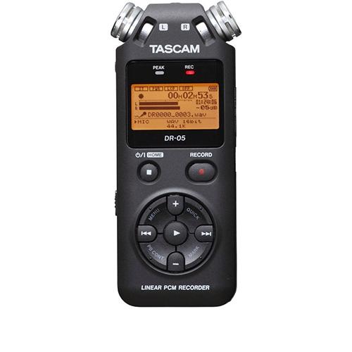 Reportofon digital profesional Tascam DR-05, 32GB, 7 ore imagine spy-shop.ro 2021