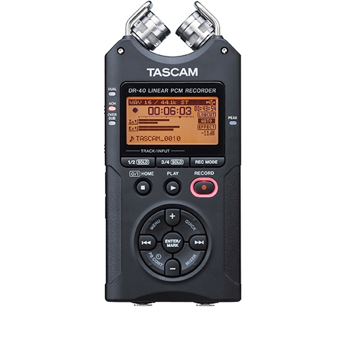 Reportofon digital profesional Tascam DR-40, 32GB, 7 ore imagine spy-shop.ro 2021