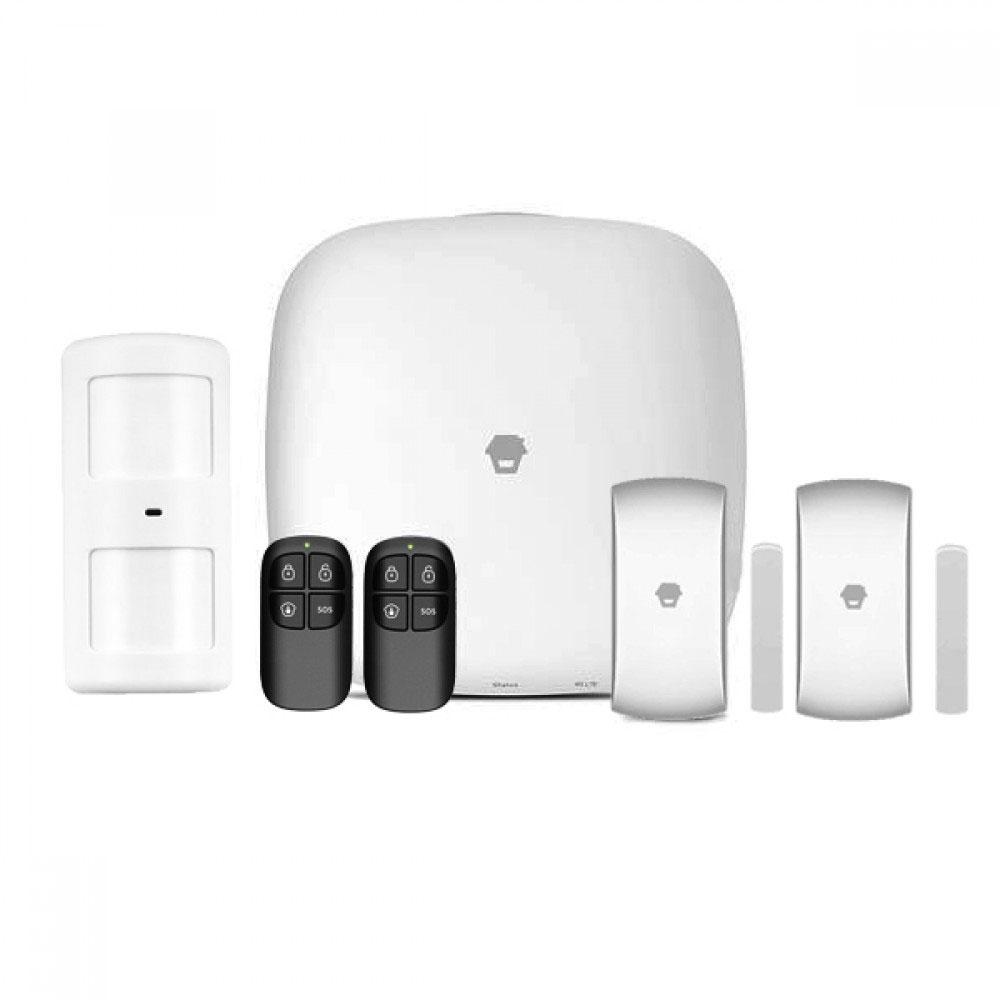 Sistem de alarma wireless WiFi/GSM Chuango LTE-400, 433 MHz, 97 dB, max 50 senzori, 3G/4G, pet immunity