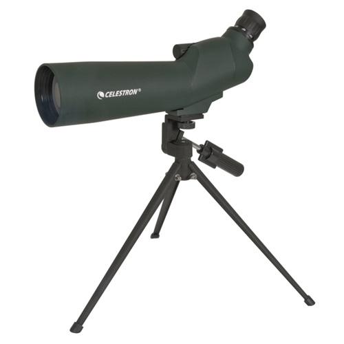 Luneta terestra Celestron UpClose Zoom 60mm, 45 grade