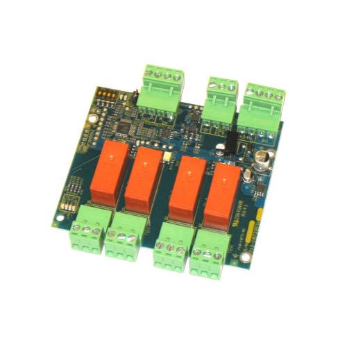 Modul extensie pentru releu Advanced MXP-035(F), 4 iesiri programabile, instalat
