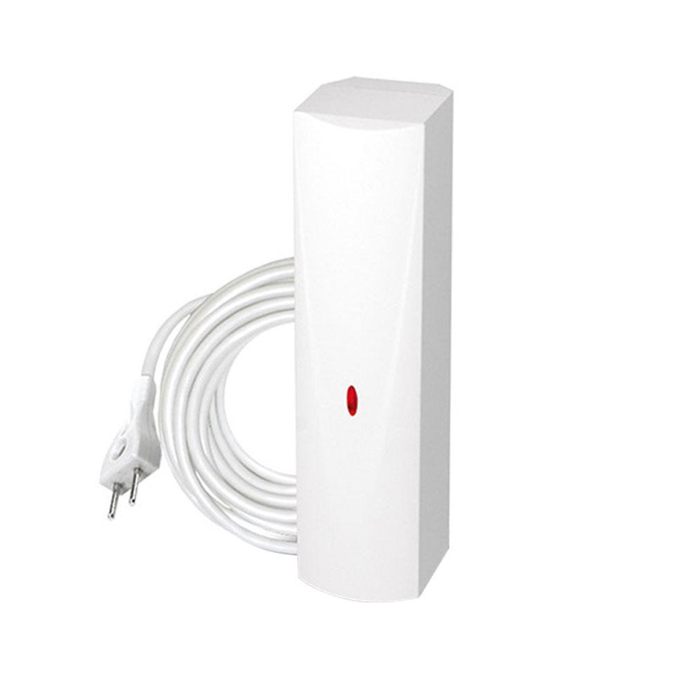 Detector de inundatie wireless Satel MFD-300, senzor extern, cablu 3 m, RF 400 m
