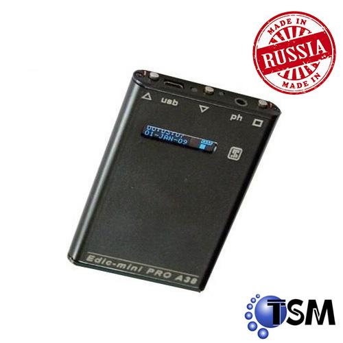 MICRO REPORTOFON DIGITAL PROFESIONAL TSM EDIC-MINI PRO A38 2GB