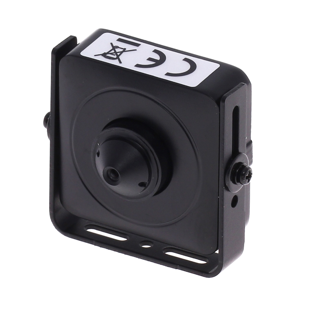 Microcamera video pinhole Hikvision Ultra Low Light DS-2CS54D8T-PH, 2 MP, 3.7 mm, detectia miscarii imagine spy-shop.ro 2021