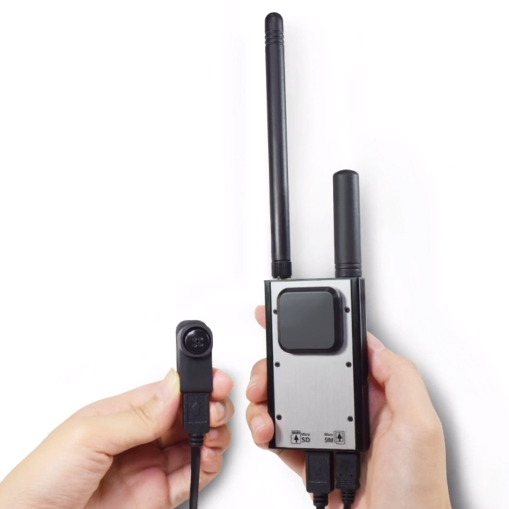 Microcamera spion MP-CB300U, Full HD, GSM 4G LTE, slot card imagine spy-shop.ro 2021