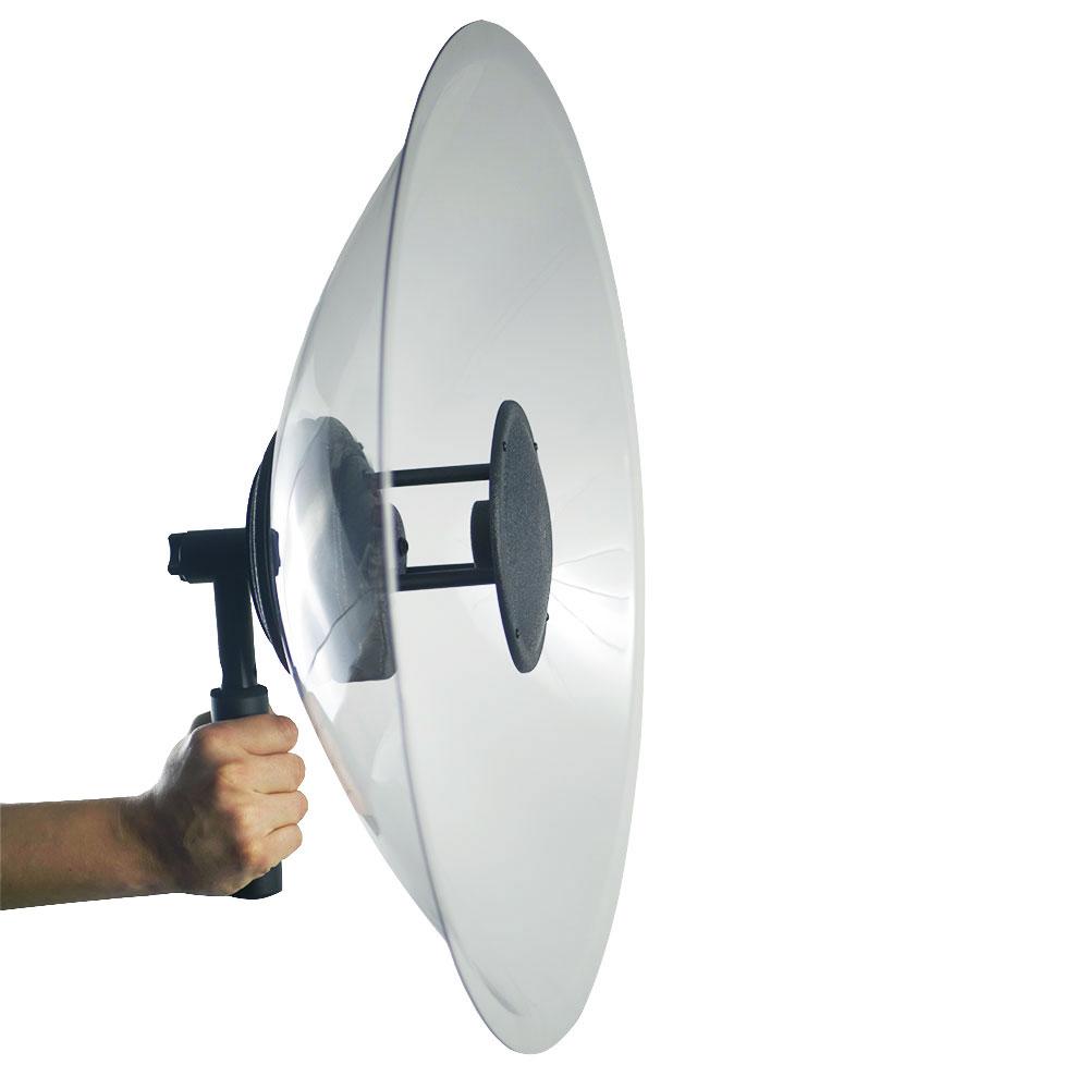 Microfon directional profesional cu amplificare 851810, 0-64 bB, autonomie 40 ore