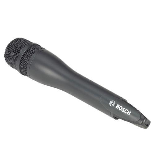 Microfon portabil wireless Bosch MW1-HTX-F4, 193 canale, LCD, 15 ore imagine spy-shop.ro 2021