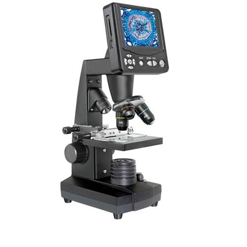 Microscop digital cu ecran LCD 5 MP Bresser 5201000 imagine spy-shop.ro 2021
