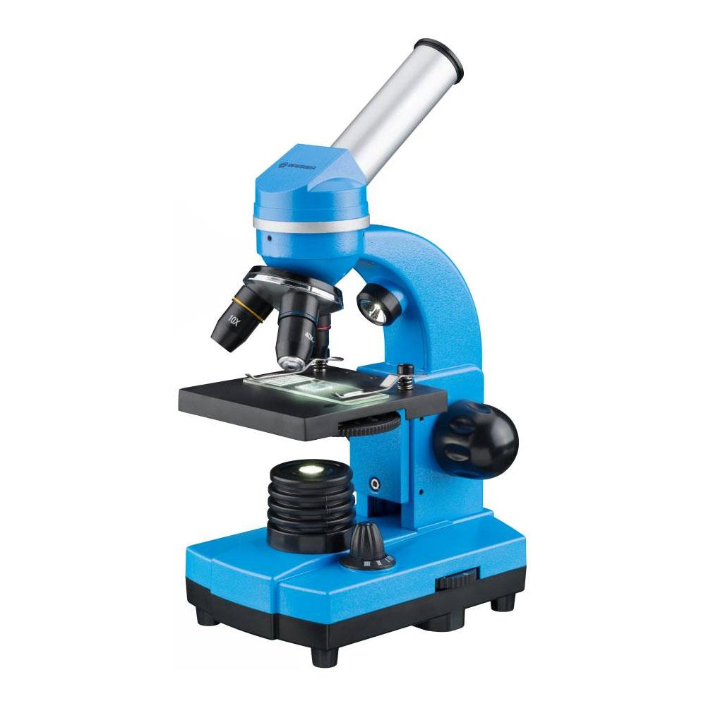 Microscop optic Bresser Junior Student Biolux SEL, albastru