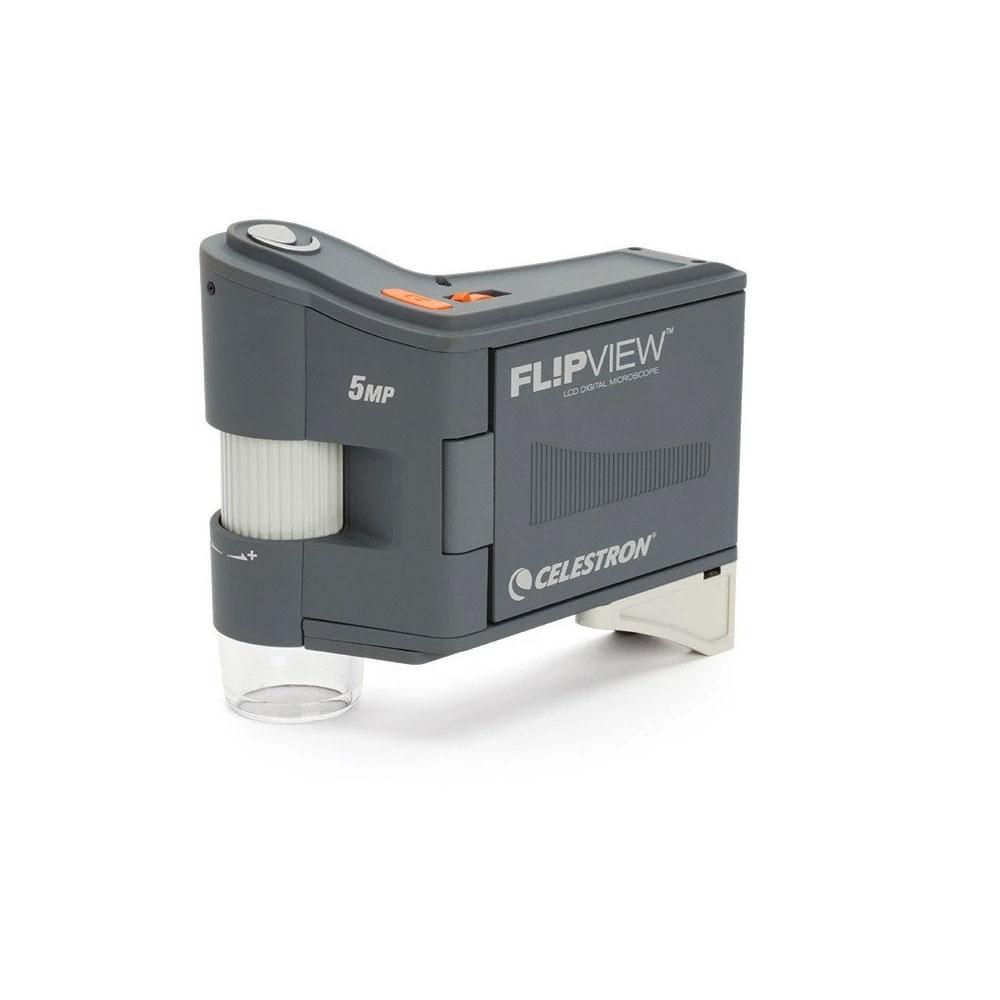 Microscop portabil digital Celestron FlipView 5MP LCD