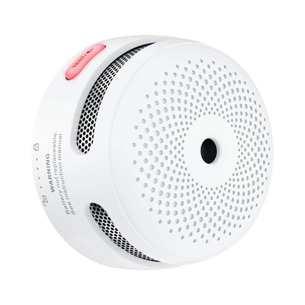Mini detector wireless de fum standalone cu sirena X-Sense XS01-WR, interconectare, 85 dB, 5 ani autonomie imagine spy-shop.ro 2021