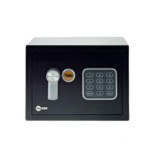 Mini seif rezidential YALE YSV/170/DB1, negru, otel imagine spy-shop.ro 2021