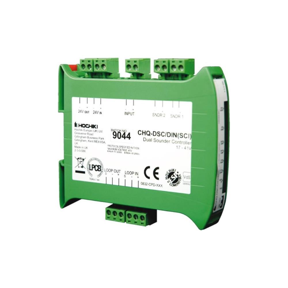 Modul analog-adresabil 2 iesiri sirena cu izolator la scurt-circuit Hochiki ESPIntelligent CHQ-DSC2/DIN(SCI)/SIL, SIL2, sina DIN, 17 - 41 Vdc imagine spy-shop.ro 2021