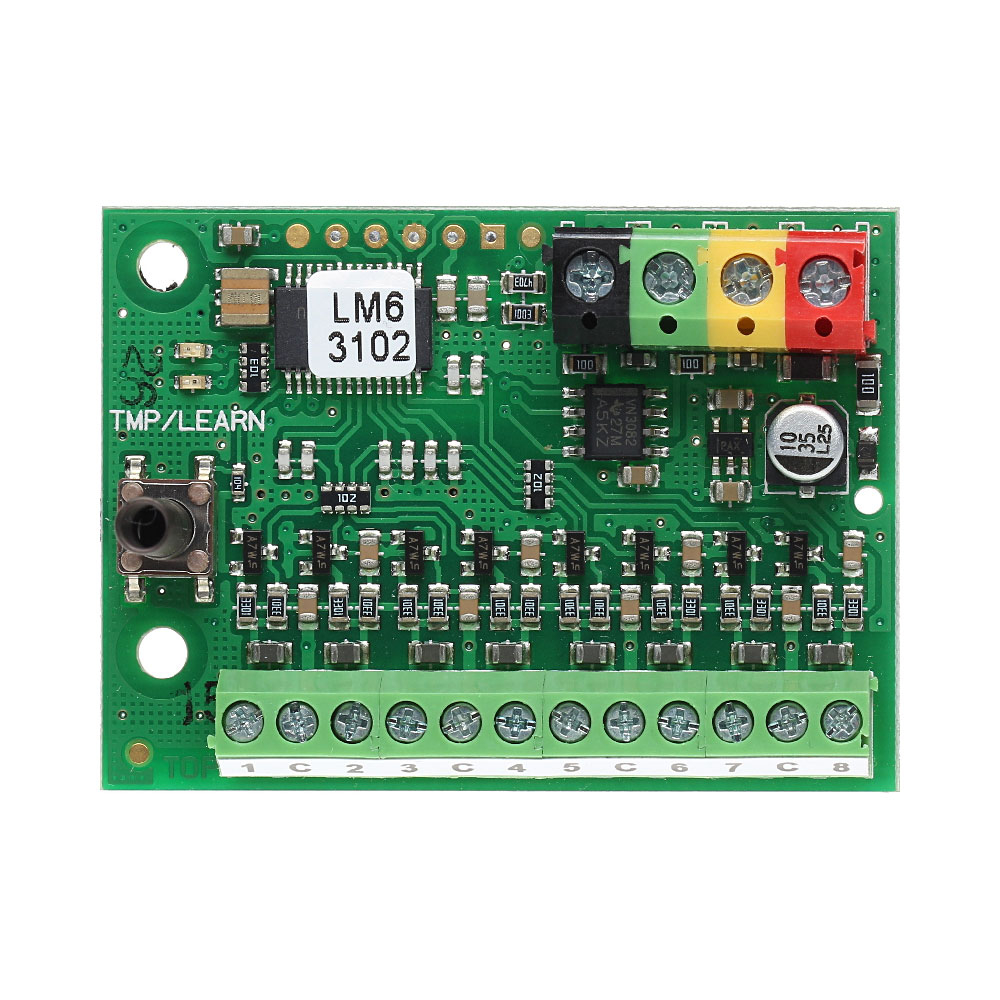 Modul conectare contacte magnetice JABLOTRON 100 JA-118M, adresabil, 8 intrari imagine spy-shop.ro 2021