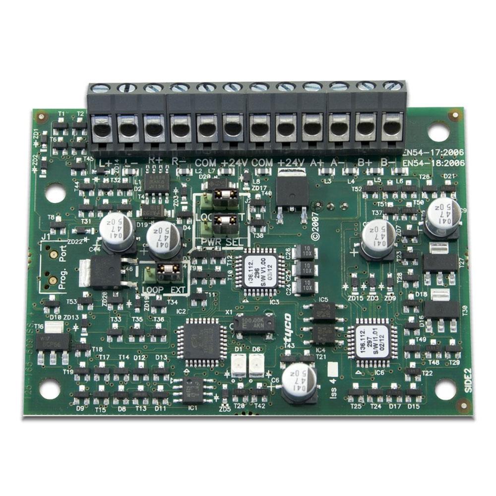 Modul conectare detectori conventionali de gaz/fum Bentel FC410DDM, 2 detectori imagine spy-shop.ro 2021