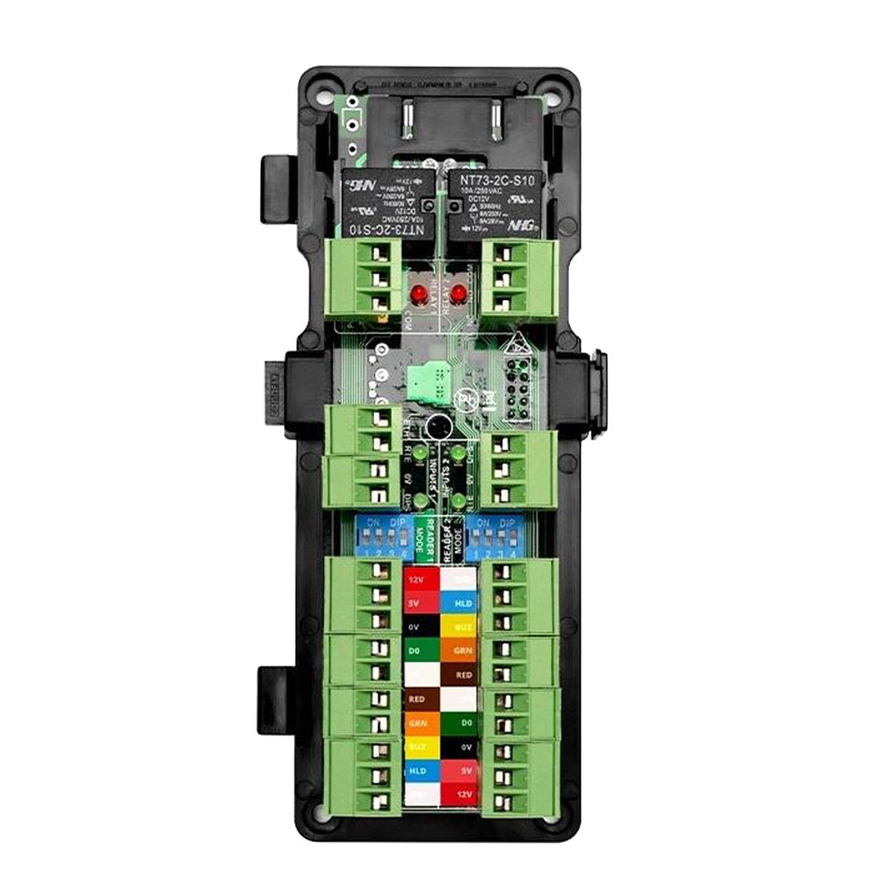 Modul control acces Incedo Assa Abloy EAC-DM5, Wiegand, 2 usi unidirectionale/1 usa bidirectionala, 2 intrari/iesiri