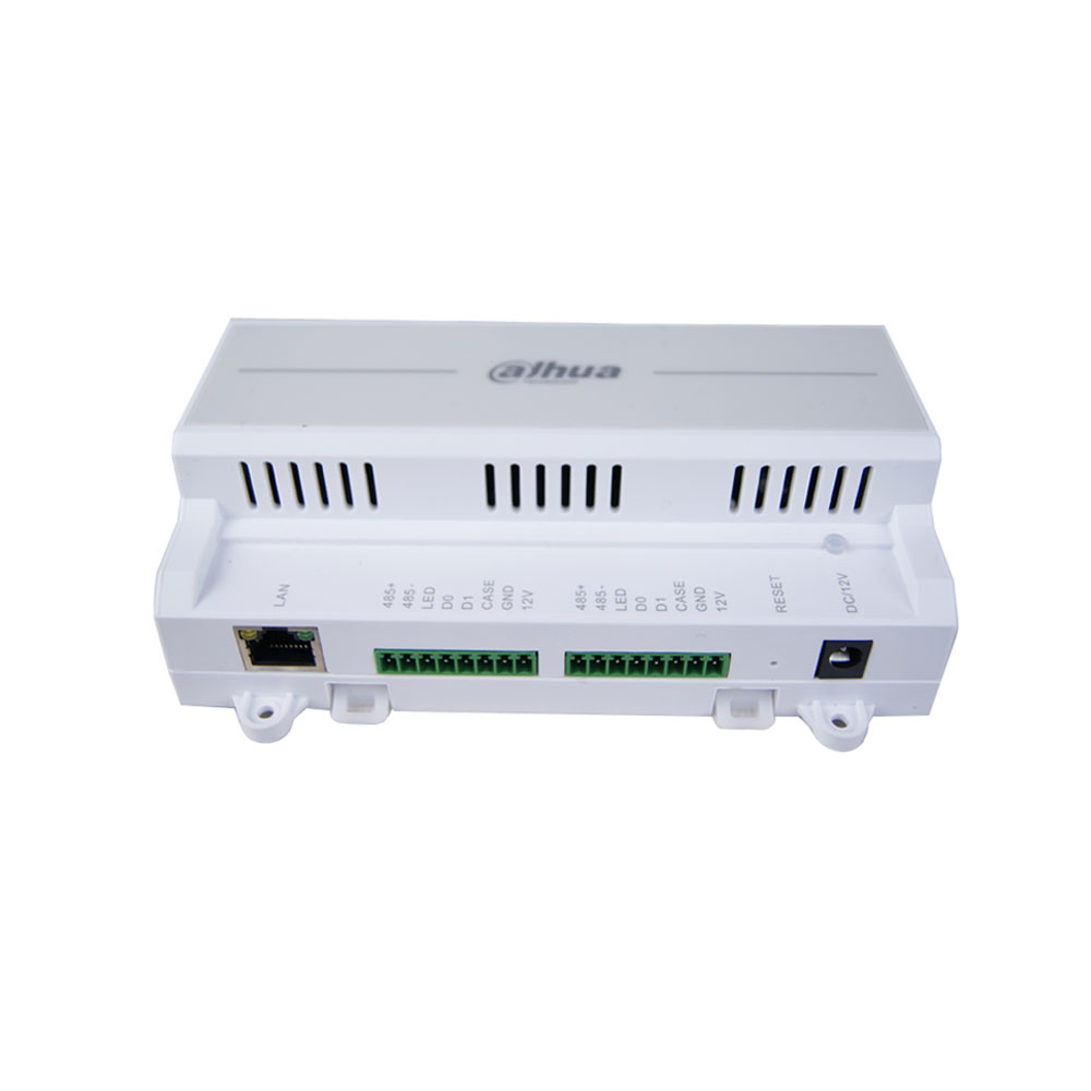 Modul control acces IP Dahua ASC1202B-S, PIN/card, amprenta, 100.000 carduri, 150.000 evenimente, antipassback imagine spy-shop.ro 2021