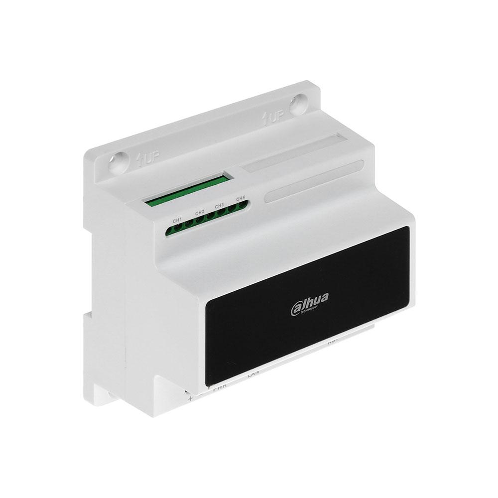 Modul convertor analog IP Dahua VTNC3000A, 4 canale, sina DIN imagine spy-shop.ro 2021