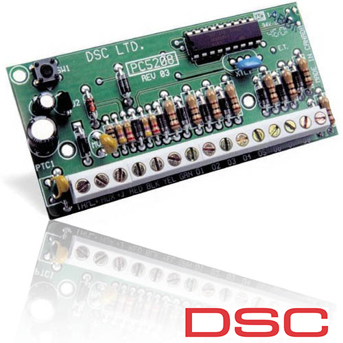 MODUL CU 8 IESIRI DE CURENT MIC DSC PC 5208