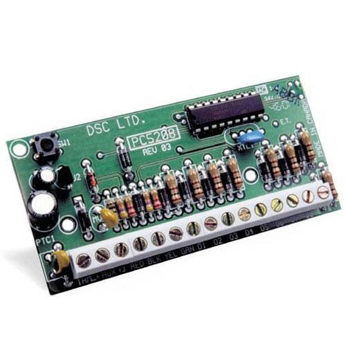 Modul cu 8 iesiri de curent mic DSC PC 5208 imagine spy-shop.ro 2021