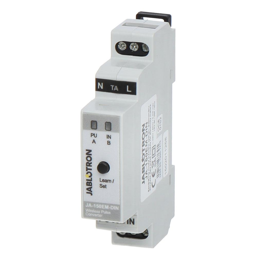 Modul de afisare citiri de contor electric JABLOTRON 100 JA-150EM-DIN, wireless, 300 m, sina DIN imagine spy-shop.ro 2021