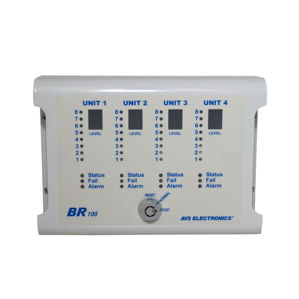 Modul de afisare la distanta AVS Electronics BR 100, max 4 bariere, RS485, LED imagine spy-shop.ro 2021