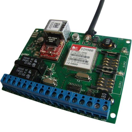 Modul de comunicare abonat universal SEKA CID COMBO, 6 porturi, GSM, 4 dispecerate