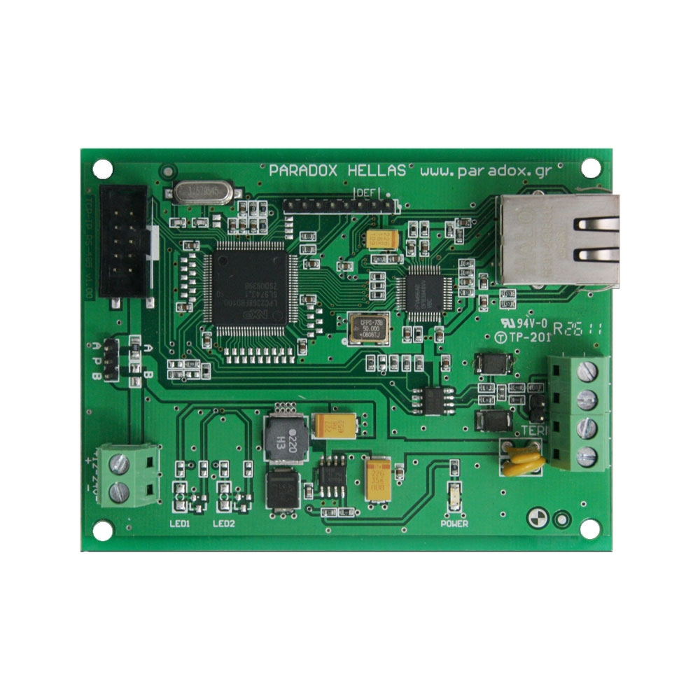 Modul de comunicatie ethernet si RS485 PH Svesis MRTCP/IP, 5 VDC, compatibil Matrix2000 imagine spy-shop.ro 2021