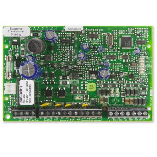 Modul de control acces Paradox ACM12, 4 fire, 999 utilizatori imagine spy-shop.ro 2021