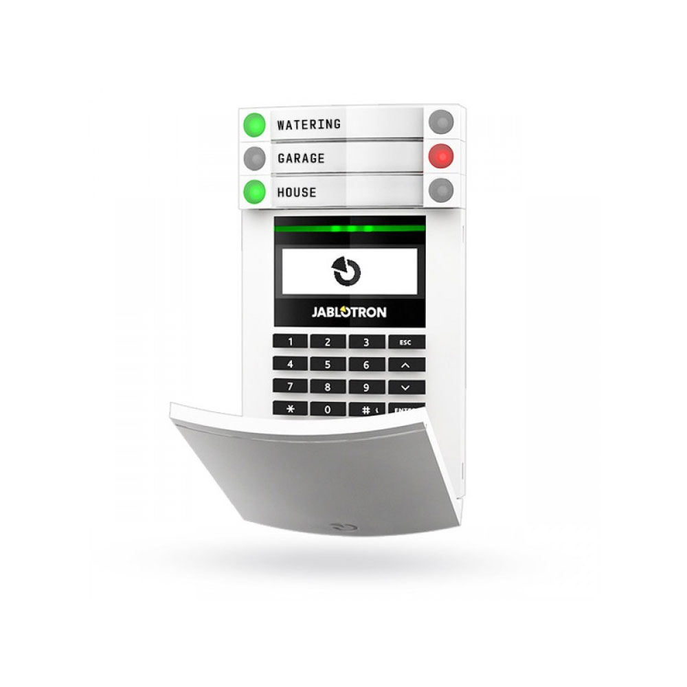 Modul de control acces wireless JABLOTRON 100 JA-154E, adresabil, 200 m, LCD imagine spy-shop.ro 2021