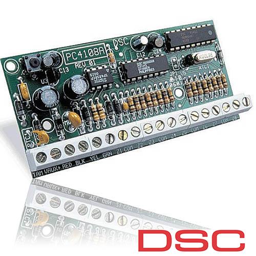 MODUL DE EXTENSIE DSC CU 8 ZONE PC 4108