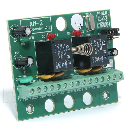 Modul de extensie I/O Roger Technology XM 2 BRD, 2 intrari, 2 iesiri, 12 V imagine spy-shop.ro 2021