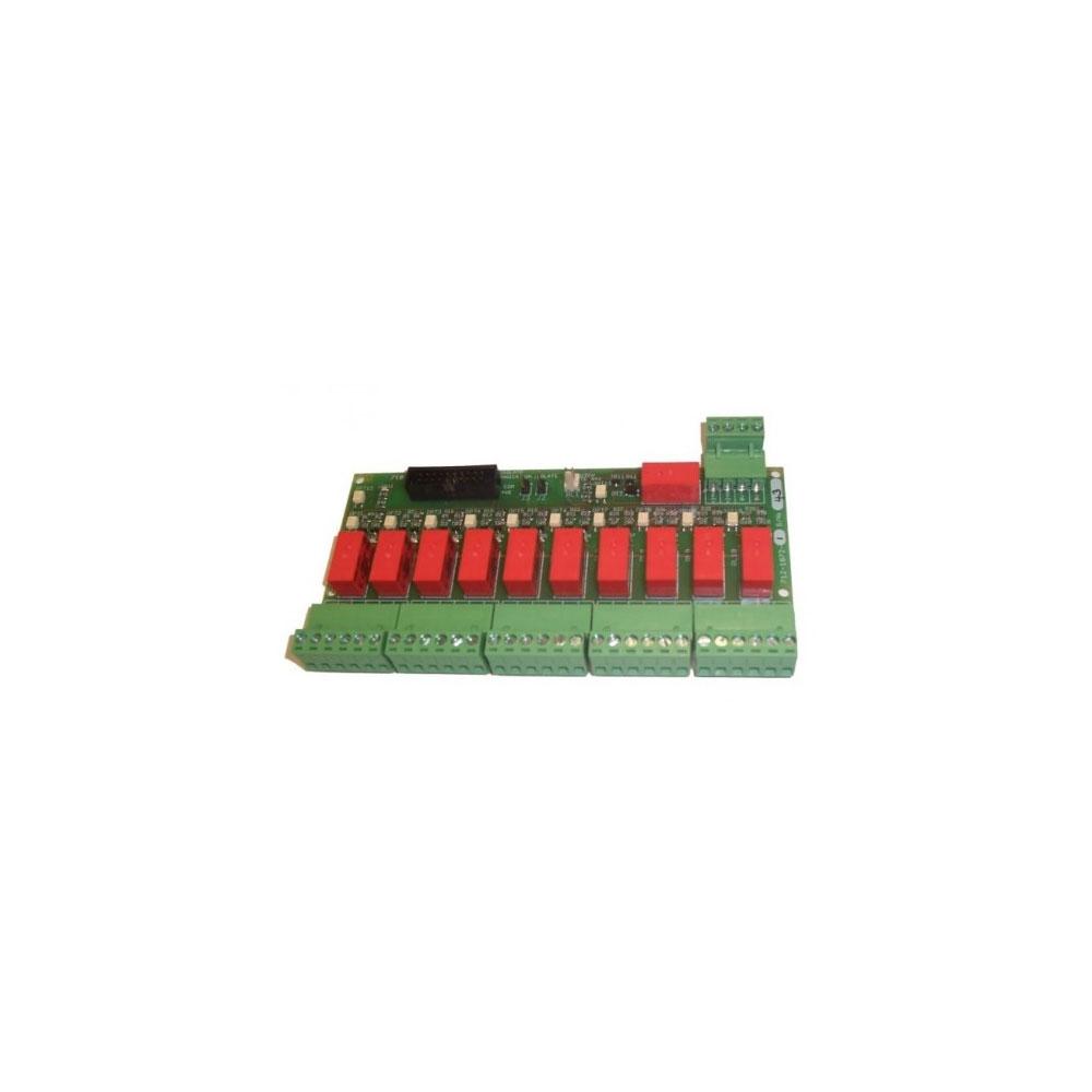 Modul extensie 10 iesiri pe releu Advanced Mxp-052-DIN, programabile, pentru sina DIN