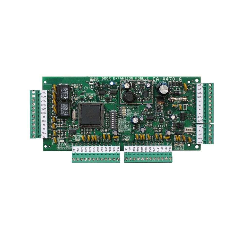 Modul extensie CDVI Centaur CA-A470-A, cutie metalica cu traf, 4 intrari, 6 iesiri imagine spy-shop.ro 2021