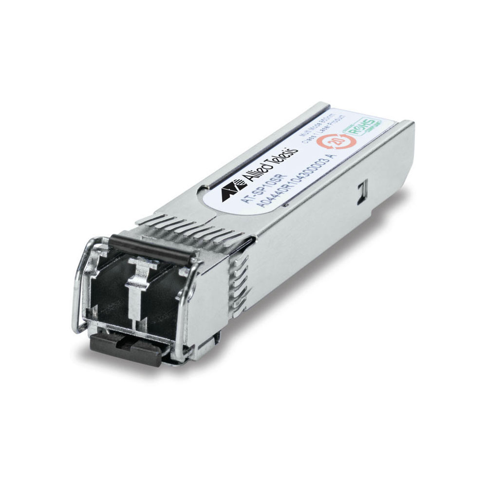 Modul fibra optica multi-mod Allied Telesis AT-SP10SR, 10.3 Gbps, SFP+, 850 nm, 300 m