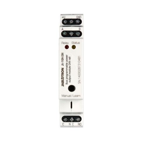 Modul iesire pe releu JABLOTRON 100 JA-110N-DIN, 230 V/16 A, sina DIN, IP20 imagine spy-shop.ro 2021