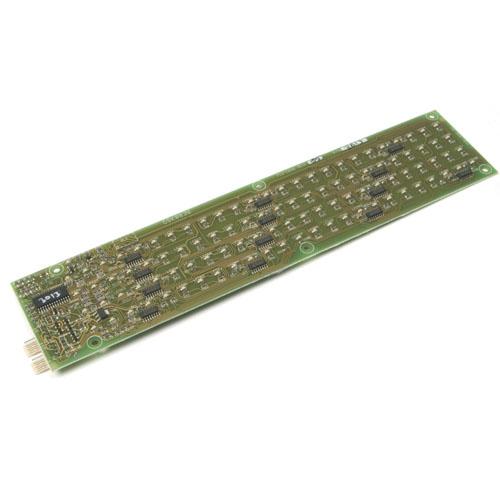 Modul indicator cu LED-uri 50 zone Advanced MXP-513M-050RD, carcasa medie, LED incendiu