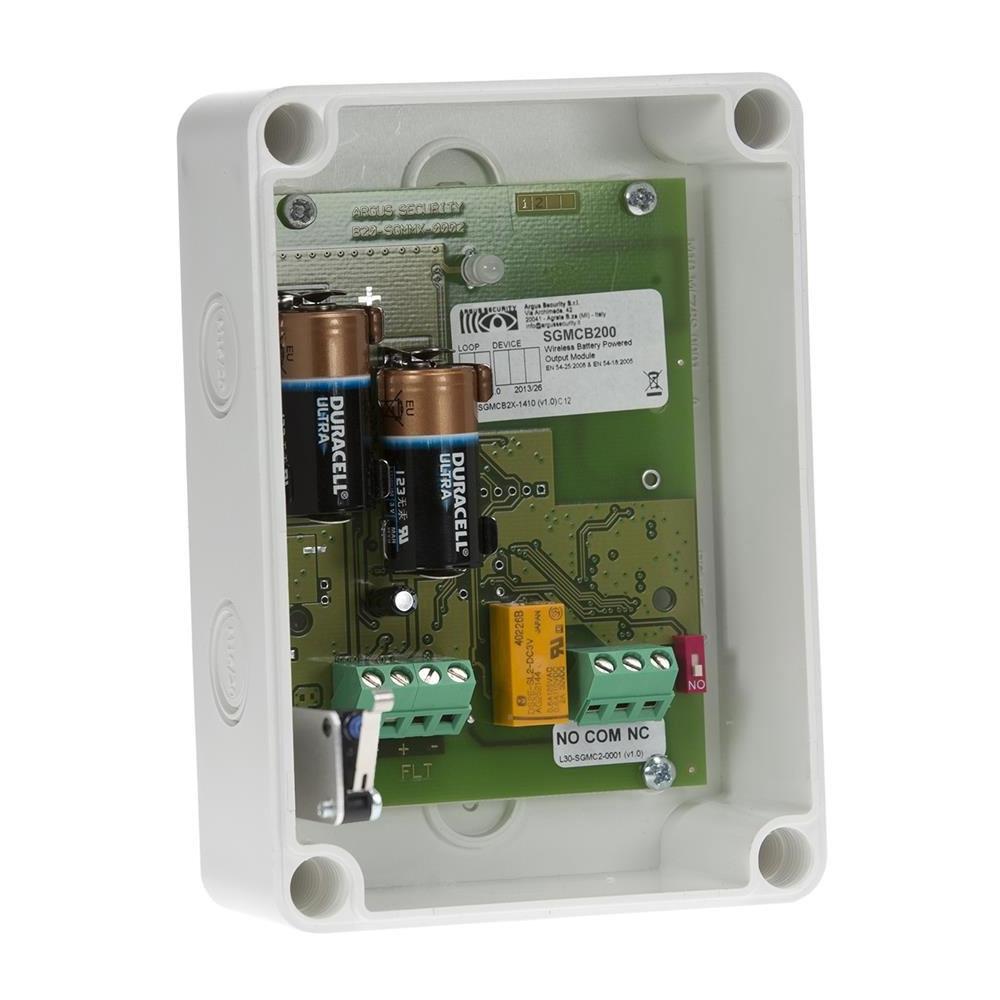 Modul interfata radio Argus Security SGMCB200, bidirectional, conventional, IP65 imagine spy-shop.ro 2021