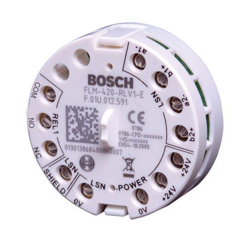 Modul interfata releu Bosch FLM-420-RLV1-E, 1 iesire, IP30, aparent imagine
