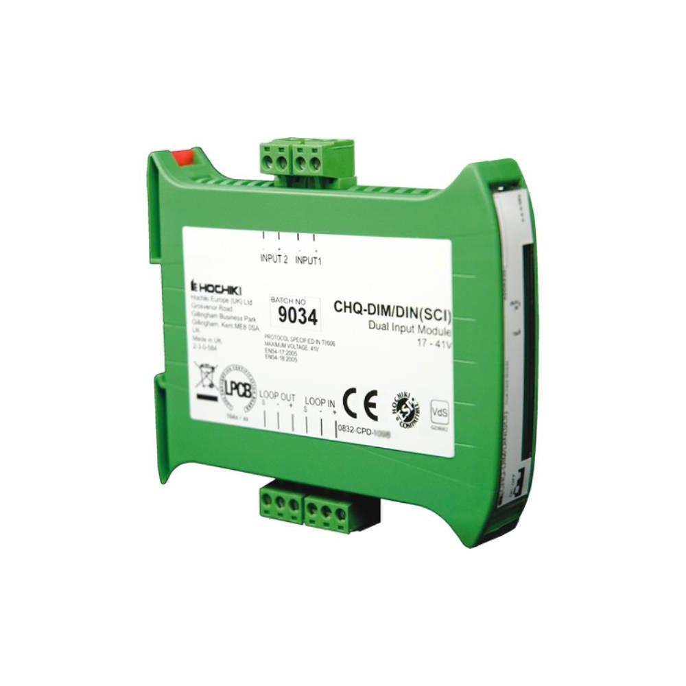 Modul monitorizare 2 contacte cu izolator la scurt-circuit Hochiki CHQ-DIM2/DIN(SCI)/SIL, sina DIN, configurabil NO/NC, SIL2 imagine spy-shop.ro 2021