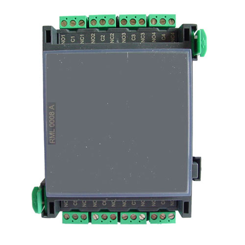 Modul releu de tensiune joasa Bosch RML 0008 A, 8 relee, IP30 imagine spy-shop.ro 2021